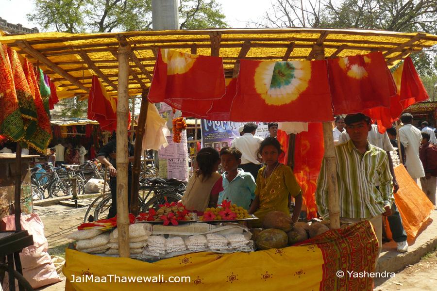 prashad shop near thawe durga mandir