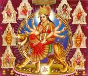 Nine forms of Maa Durga