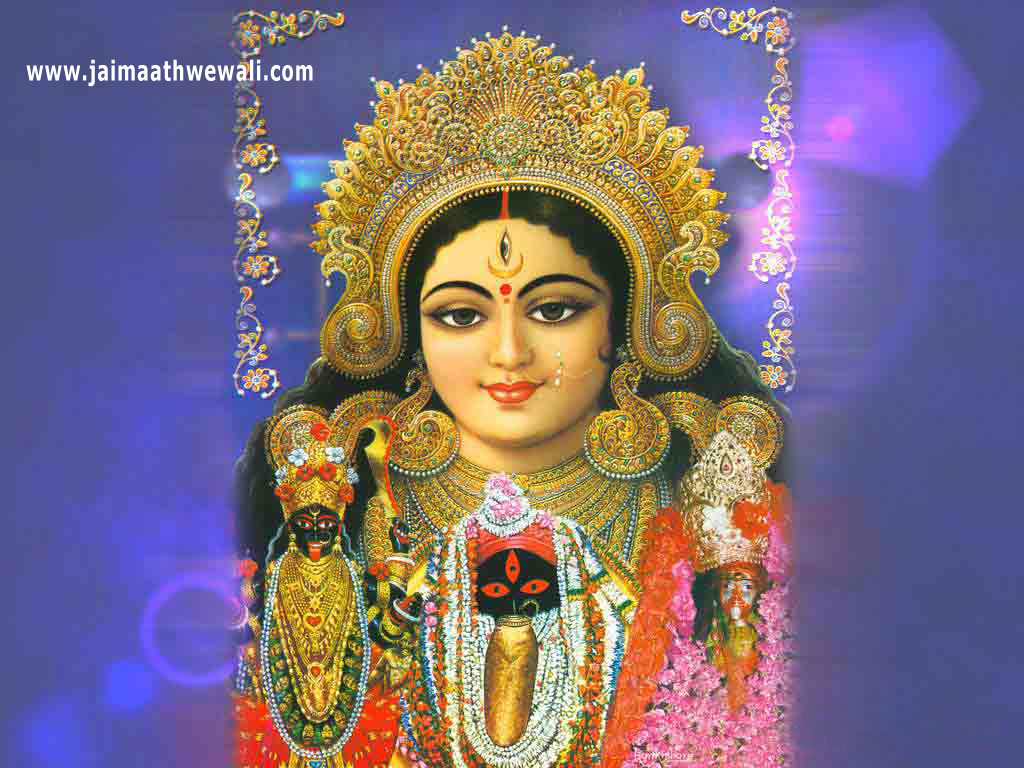 maa durga wall papers