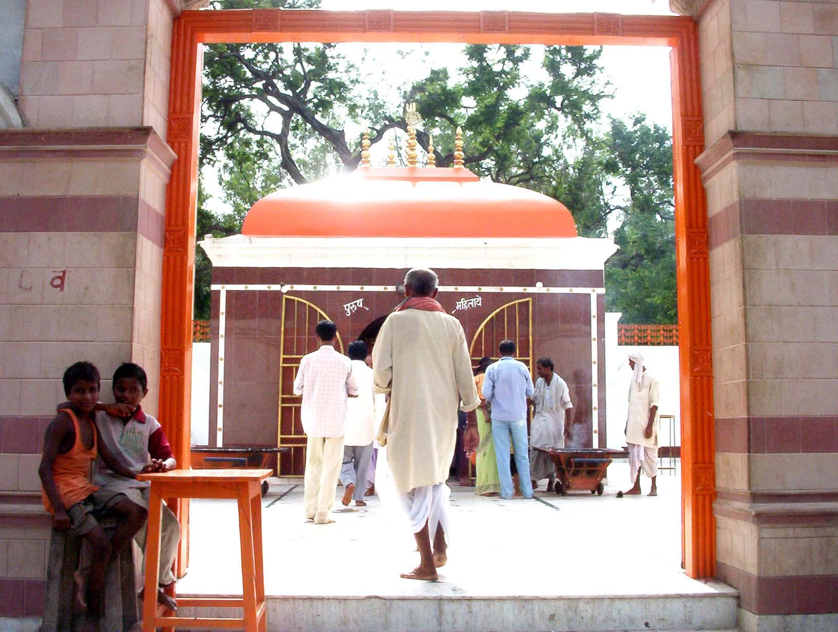 Maa Thawewali temple in Thawe